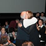 Nathalie Ducharme présente TOUJOURS ARTISTE avec Claude Steben lors du 34e Festival du Cinéma International en Abitibi Témiscamingue au théâtre du cuivre à Rouyn-Noranda