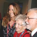 Claude Steben et nathalie ducharme - le film documentaire TOUJOURS ARTISTE de Nathalie Ducharme présenté au 34e Festival du Cinéma International en Abitibi Témiscamingue