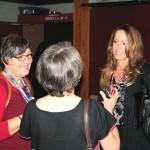 nathalie ducharme présente en première mondiale son film documentaire TOUJOURS ARTISTE au 34e Festival du Cinéma International en Abitibi Témiscamingue avec Claude Steben