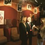 Nathalie Ducharme en entrevue avec Isabelle Beaudoin de RNC médias Abitibi pour présenter le documentaire TOUJOURS ARTISTE au festival du cinéma en abitibi témiscamingue avec Claude Steben