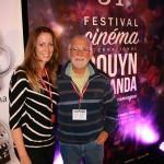nathalie ducharme présente son documentaire TOUJOURS ARTISTE en compagnie de claude steben au 34e festival du cinéma international en abitibi témiscamingue