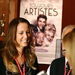 Nathalie Ducharme en entrevue avec Isabelle Beaudoin de RNC médias Abitibi pour présenter le documentaire TOUJOURS ARTISTE au festival du cinéma en abitibi témiscamingue