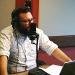 le journaliste félix b desfossés de radio-canada première Abitibi pour TOUJOURS ARTISTE de Nathalie Ducharme